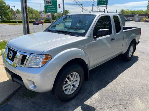 2014 Nissan Frontier for sale at BORGES AUTO CENTER, INC. in Taunton MA