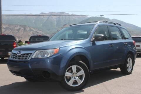 2011 Subaru Forester for sale at REVOLUTIONARY AUTO in Lindon UT