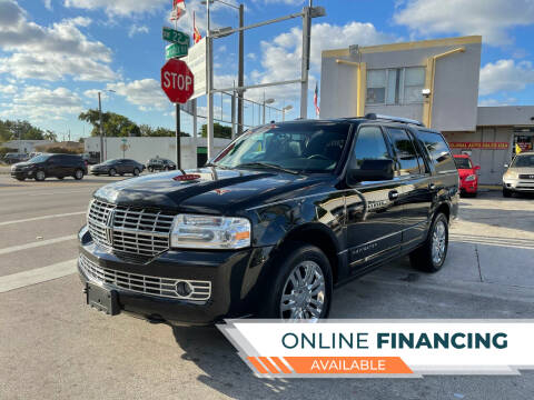 2007 Lincoln Navigator for sale at Global Auto Sales USA in Miami FL