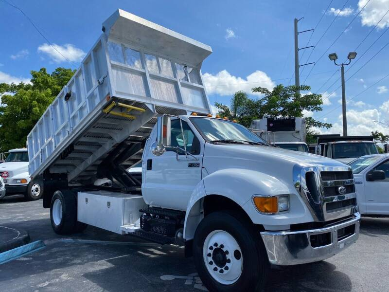 2015 Ford F-750 Super Duty for sale at Truck and Van Outlet in Miami FL