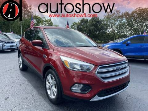 2017 Ford Escape for sale at AUTOSHOW SALES & SERVICE in Plantation FL