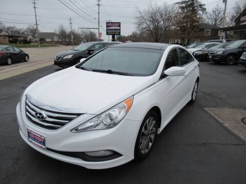 2014 Hyundai Sonata for sale at Lake County Auto Sales in Painesville OH