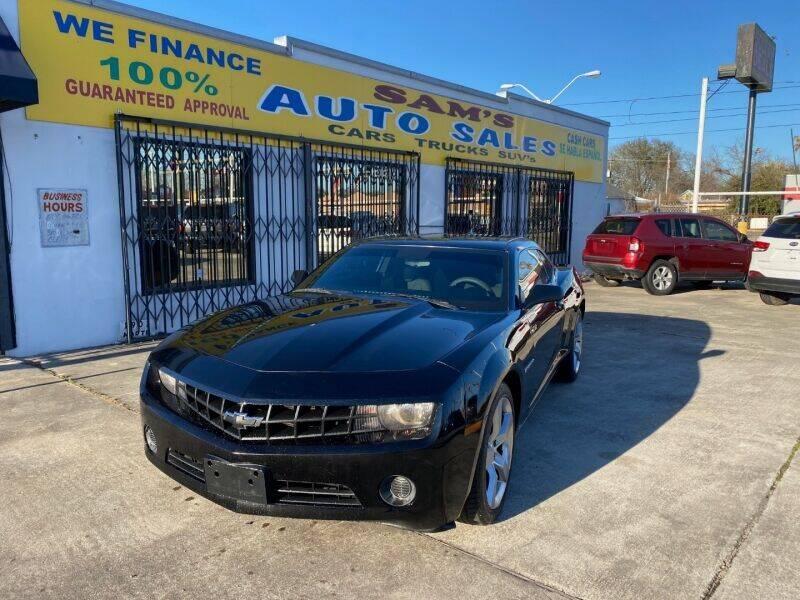 2010 Chevrolet Camaro for sale at Sam's Auto Sales in Houston TX