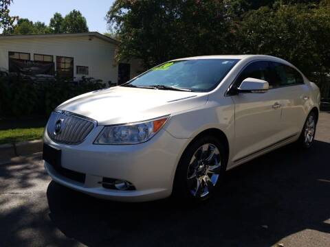 2010 Buick LaCrosse for sale at TR MOTORS in Gastonia NC