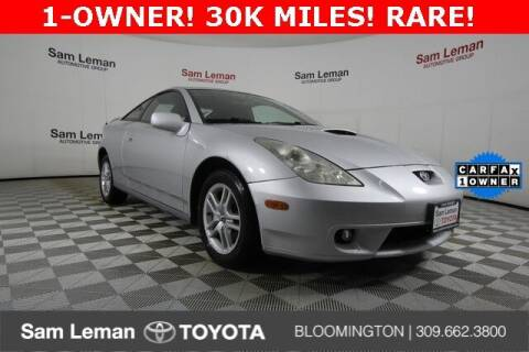 2001 Toyota Celica for sale at Sam Leman Toyota Bloomington in Bloomington IL