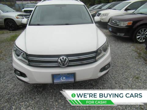 2012 Volkswagen Tiguan for sale at Balic Autos Inc in Lanham MD