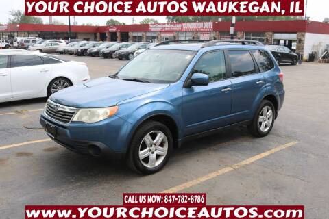 2010 Subaru Forester for sale at Your Choice Autos - Waukegan in Waukegan IL