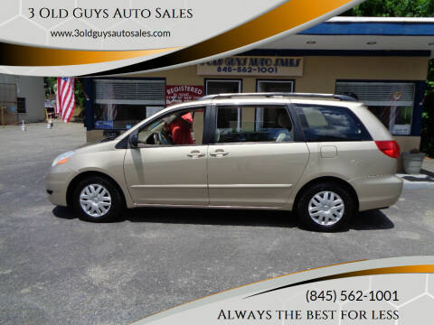 2007 Toyota Sienna for sale at 3 Old Guys Auto Sales in Newburgh NY