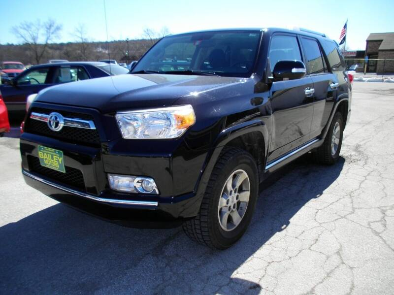 2010 Toyota 4Runner for sale at BAILEY MOTORS INC in West Rutland VT