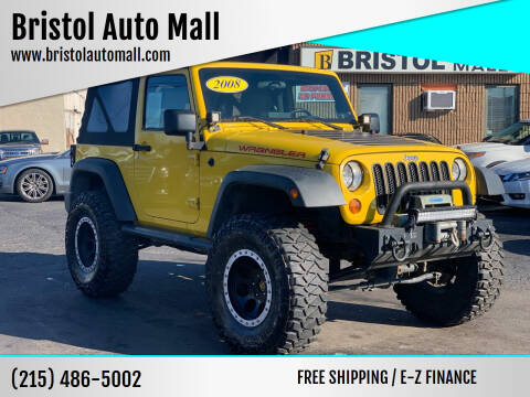 2008 Jeep Wrangler for sale at Bristol Auto Mall in Levittown PA