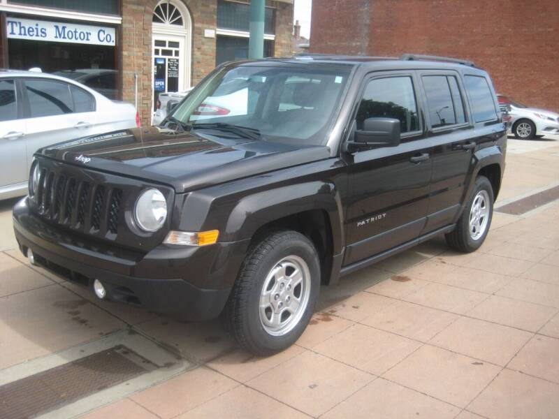 2014 Jeep Patriot for sale at Theis Motor Company in Reading OH