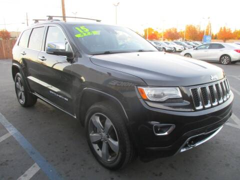 2015 Jeep Grand Cherokee for sale at Choice Auto & Truck in Sacramento CA