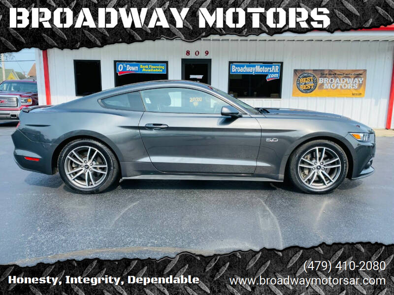 2016 Ford Mustang for sale at BROADWAY MOTORS in Van Buren AR