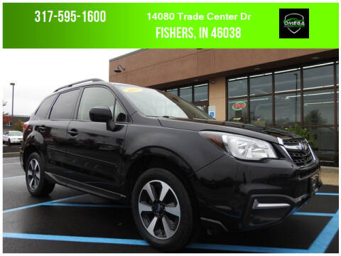 2017 Subaru Forester for sale at Omega Autosports of Fishers in Fishers IN