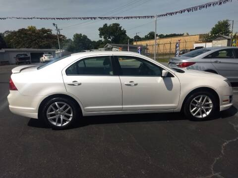 2012 Ford Fusion for sale at Kenny's Auto Sales Inc. in Lowell NC