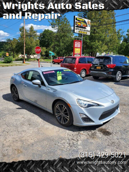 2013 Scion FR-S for sale at Wrights Auto Sales and Repair in Dolgeville NY