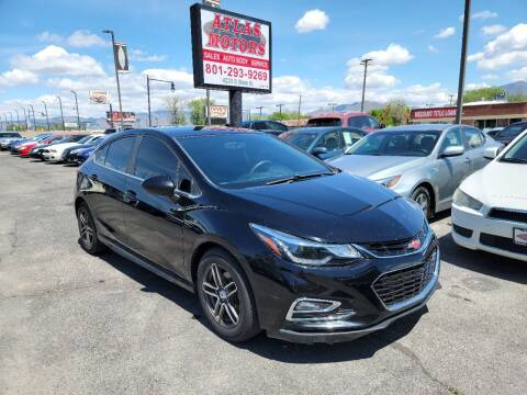 2017 Chevrolet Cruze for sale at ATLAS MOTORS INC in Salt Lake City UT
