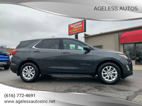 2019 Chevrolet Equinox for sale at Ageless Autos in Zeeland MI