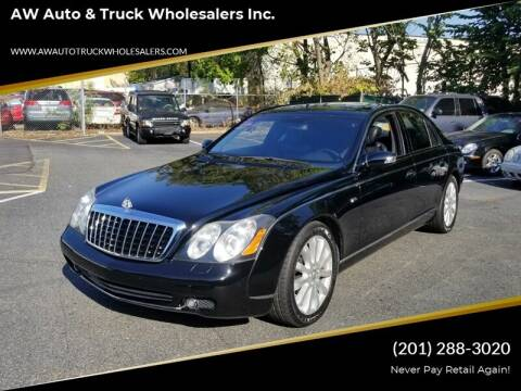 2006 Maybach 57 for sale at AW Auto & Truck Wholesalers  Inc. in Hasbrouck Heights NJ