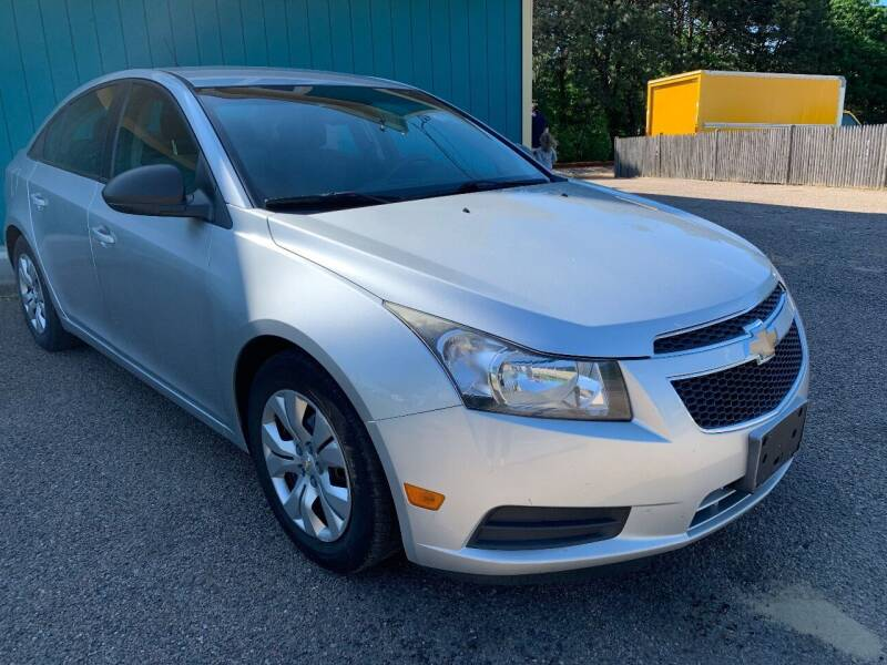 2013 Chevrolet Cruze for sale at Mutual Motors in Hyannis MA