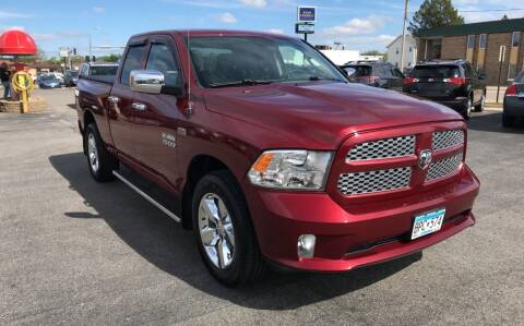 2014 RAM Ram Pickup 1500 for sale at Carney Auto Sales in Austin MN