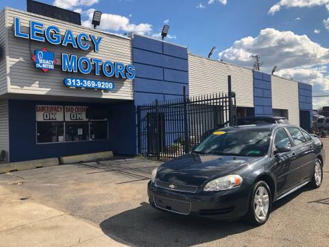 2014 Chevrolet Impala Limited for sale at Legacy Motors in Detroit MI