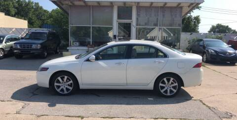 2005 Acura TSX for sale at Velp Avenue Motors LLC in Green Bay WI