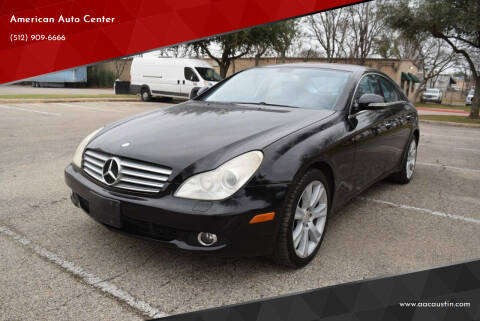 2008 Mercedes-Benz CLS for sale at American Auto Center in Austin TX