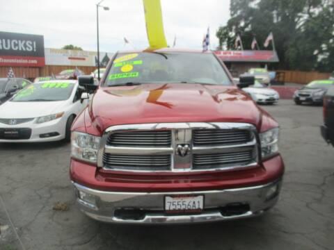 2011 RAM Ram Pickup 1500 for sale at Quick Auto Sales in Modesto CA