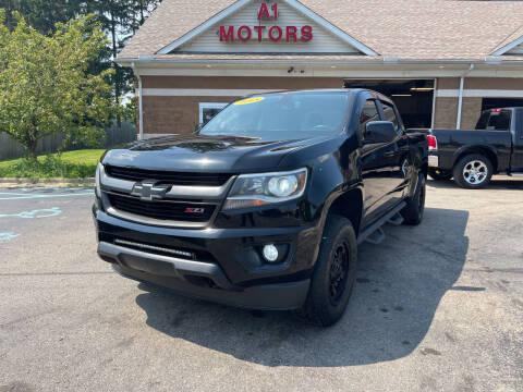 2015 Chevrolet Colorado for sale at A 1 Motors in Monroe MI