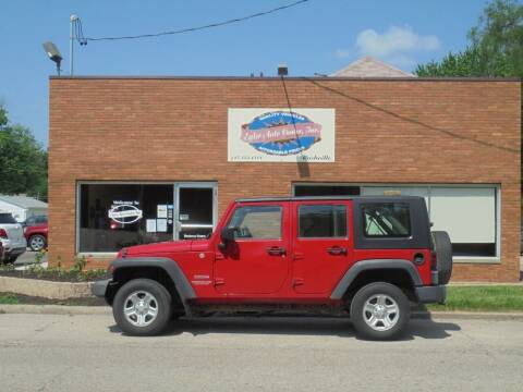 2010 Jeep Wrangler Unlimited for sale at Eyler Auto Center Inc. in Rushville IL