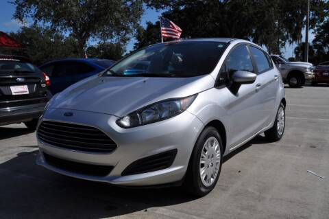 2017 Ford Fiesta for sale at STEPANEK'S AUTO SALES & SERVICE INC. in Vero Beach FL