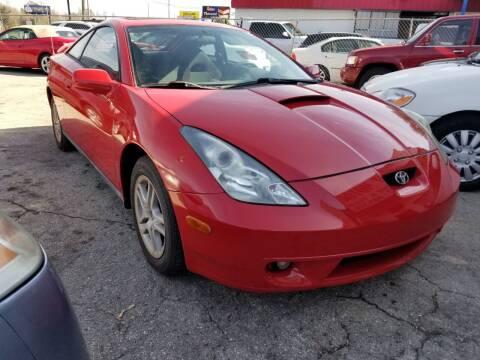 2000 Toyota Celica for sale at Fantasy Motors Inc. in Orlando FL