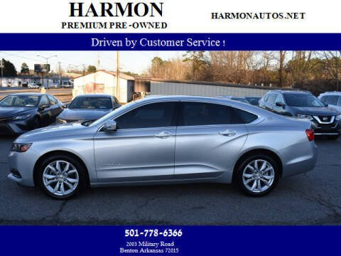 2016 Chevrolet Impala for sale at Harmon Premium Pre-Owned in Benton AR