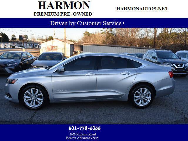 2016 Chevrolet Impala for sale at Harmon Premium Pre-Owned in Benton AR