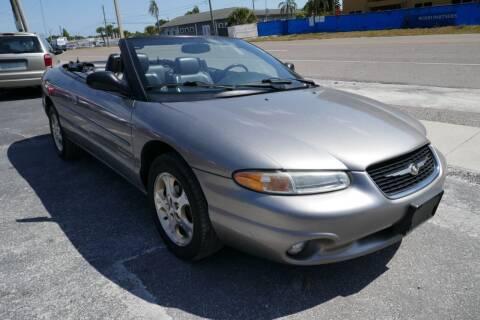 1999 Chrysler Sebring for sale at J Linn Motors in Clearwater FL