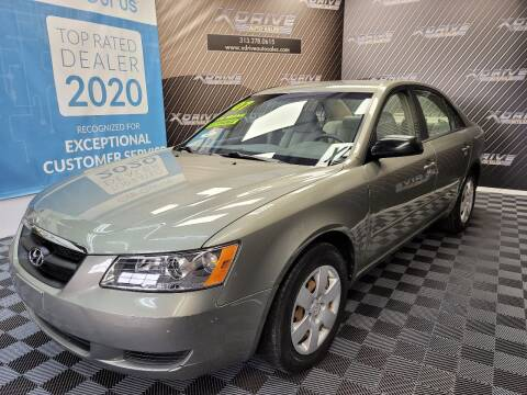 2007 Hyundai Sonata for sale at X Drive Auto Sales Inc. in Dearborn Heights MI