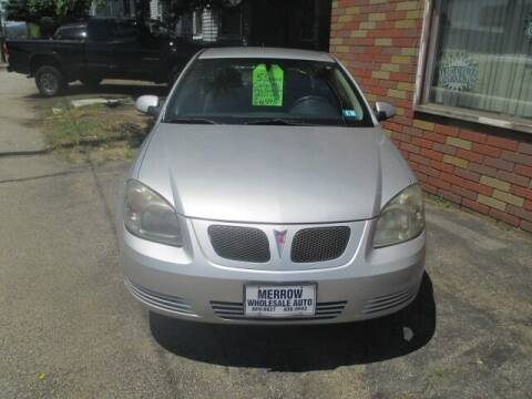 2009 Pontiac G5 for sale at MERROW WHOLESALE AUTO in Manchester NH