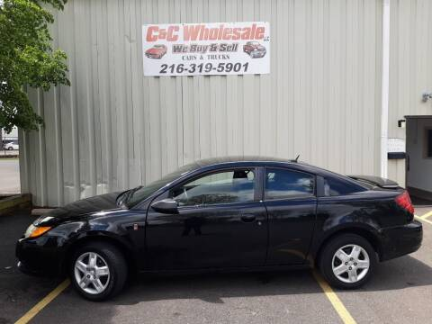 2006 Saturn Ion for sale at C & C Wholesale in Cleveland OH