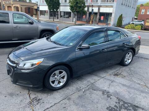 2015 Chevrolet Malibu for sale at East Main Rides in Marion VA
