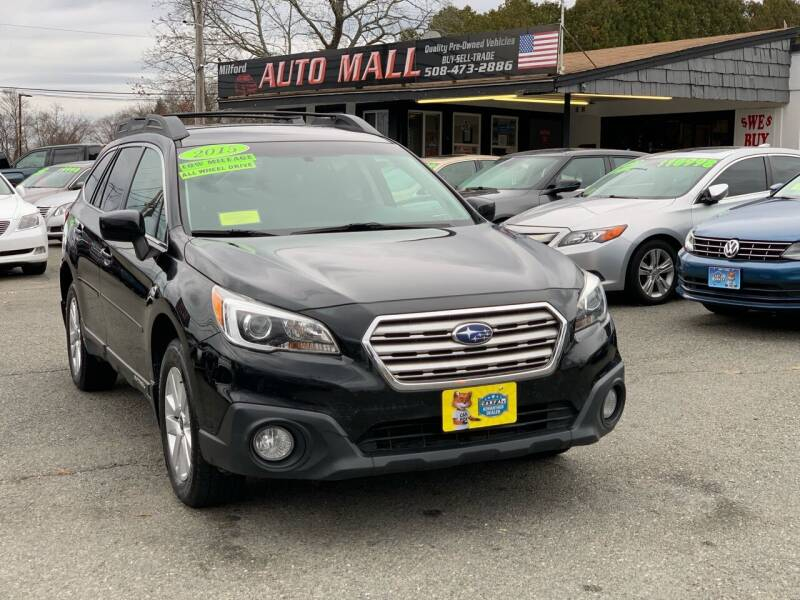 2015 Subaru Outback for sale at Milford Auto Mall in Milford MA