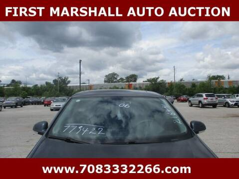 2006 Volkswagen Jetta for sale at First Marshall Auto Auction in Harvey IL