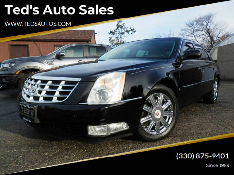 2008 Cadillac DTS for sale at Ted's Auto Sales in Louisville OH