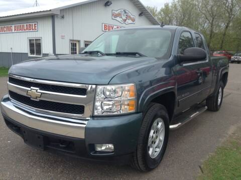 2008 Chevrolet Silverado 1500 for sale at Steves Auto Sales in Cambridge MN