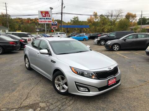 2015 Kia Optima for sale at KB Auto Mall LLC in Akron OH