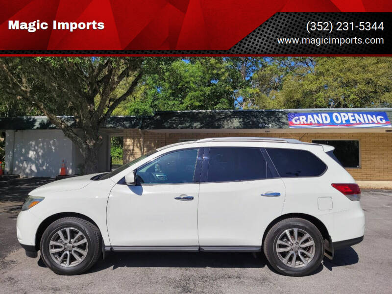 2015 Nissan Pathfinder for sale at Magic Imports in Melrose FL