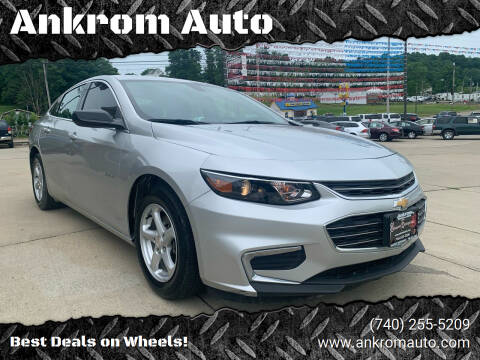 2017 Chevrolet Malibu for sale at Ankrom Auto in Cambridge OH