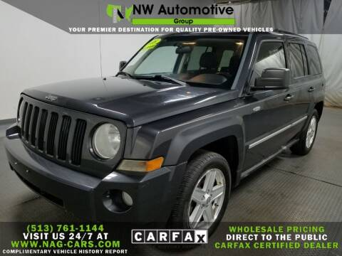 2010 Jeep Patriot for sale at NW Automotive Group in Cincinnati OH