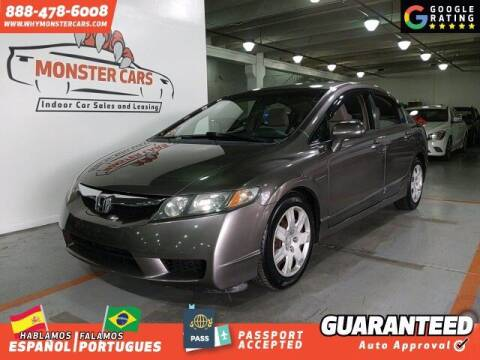 2009 Honda Civic for sale at Monster Cars in Pompano Beach FL