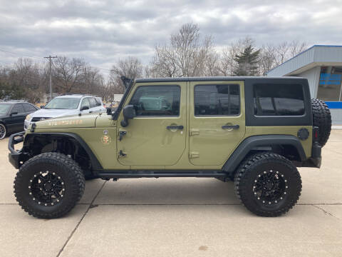 2013 Jeep Wrangler Unlimited for sale at GRC OF KC in Gladstone MO
